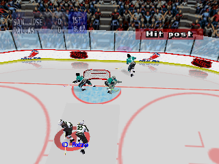 Screenshot Thumbnail / Media File 1 for NHL Breakaway 98 (USA)