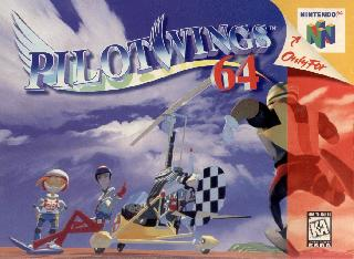 Screenshot Thumbnail / Media File 1 for Pilotwings 64 (Europe) (En,Fr,De)