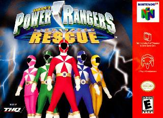 Screenshot Thumbnail / Media File 1 for Power Rangers - Lightspeed Rescue (Europe)