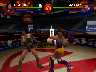 Screenshot Thumbnail / Media File 1 for Ready 2 Rumble Boxing - Round 2 (USA)