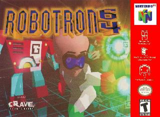 Screenshot Thumbnail / Media File 1 for Robotron 64 (Europe)