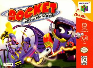 Screenshot Thumbnail / Media File 1 for Rocket - Robot on Wheels (Europe) (En,Fr,De)