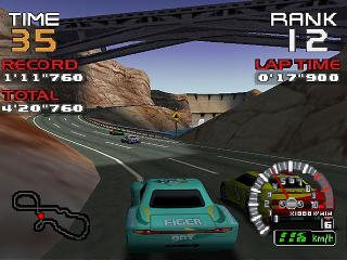 Screenshot Thumbnail / Media File 1 for RR64 - Ridge Racer 64 (Europe)