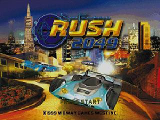 Screenshot Thumbnail / Media File 1 for San Francisco Rush 2049 (USA)