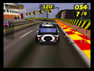 Screenshot Thumbnail / Media File 1 for San Francisco Rush - Extreme Racing (Europe) (En,Fr,De)