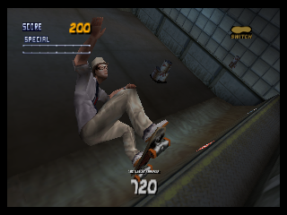 Screenshot Thumbnail / Media File 1 for Tony Hawk's Pro Skater 2 (Europe)