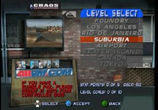 Screenshot Thumbnail / Media File 1 for Tony Hawk's Pro Skater 3 (USA)