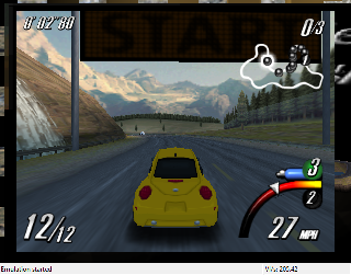 Screenshot Thumbnail / Media File 1 for Top Gear Overdrive (Europe)