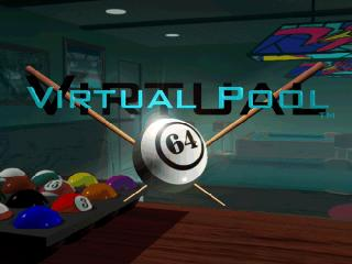 Screenshot Thumbnail / Media File 1 for Virtual Pool 64 (Europe)
