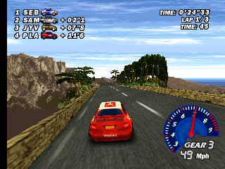 Screenshot Thumbnail / Media File 1 for V-Rally Edition 99 (Europe) (En,Fr,De)