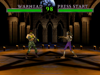 Screenshot Thumbnail / Media File 1 for War Gods (Europe)