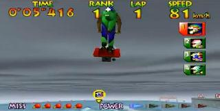 Screenshot Thumbnail / Media File 1 for Wave Race 64 (USA)