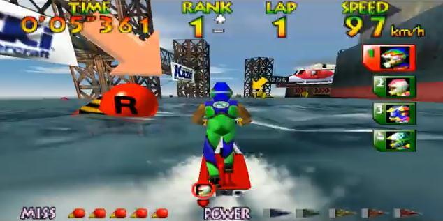 wave rider nintendo 64