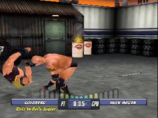 Screenshot Thumbnail / Media File 1 for WCW Backstage Assault (USA)