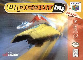Screenshot Thumbnail / Media File 1 for Wipeout 64 (Europe)