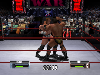 Screenshot Thumbnail / Media File 1 for WWF No Mercy (Europe)
