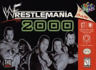 Screenshot Thumbnail / Media File 1 for WWF WrestleMania 2000 (Europe)