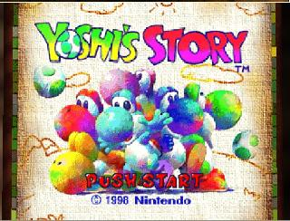 Screenshot Thumbnail / Media File 1 for Yoshi's Story (USA) (En,Ja)