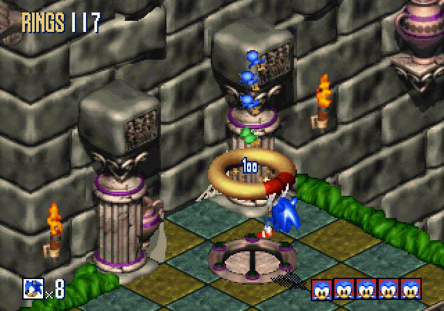 Sonic 3D Blast (U) ISO [View All Descriptions] < Saturn ISOs