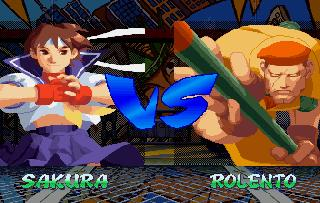 Screenshot Thumbnail / Media File 1 for Street Fighter Alpha 2 (U)