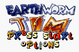 Screenshot Thumbnail / Media File 1 for Earthworm Jim (U)(Mode7)