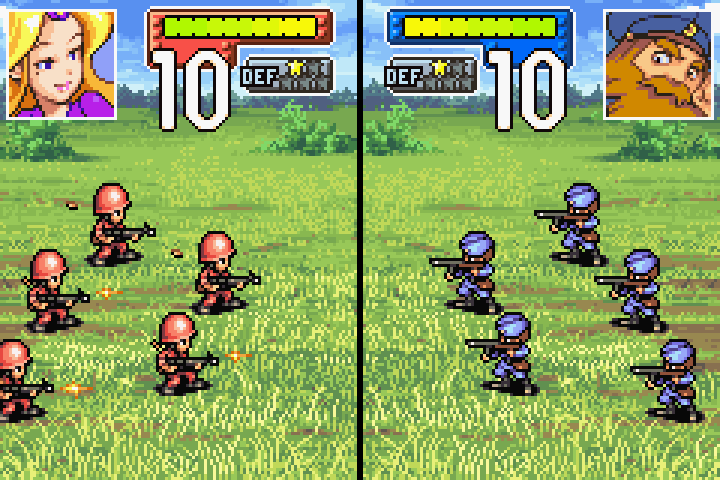 Advance Wars 2 - Black Hole Rising (Europe) GBA ROM ...
