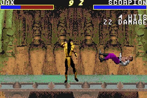 Mortal Kombat Advance (U)(Venom) ROM < GBA ROMs | Emuparadise