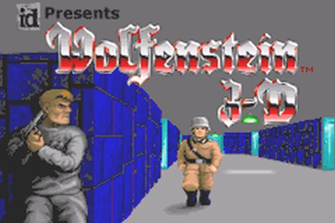 Wolfenstein 3D (U)(Mode7) ROM < GBA ROMs | Emuparadise