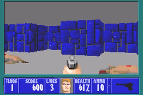 Wolfenstein 3D (U)(Mode7) ROM < GBA ROMs   Emuparadise