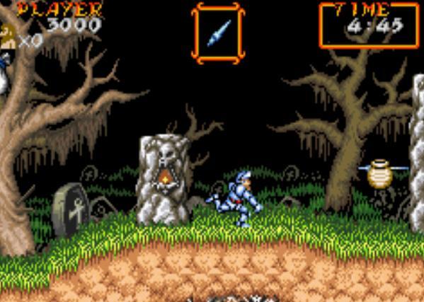 Nintendo classic mini manuals — super ghouls 'n ghost mini.