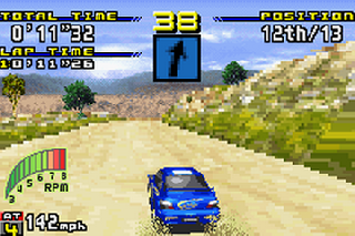Screenshot Thumbnail / Media File 1 for Sega Rally Championship (U)(Venom)