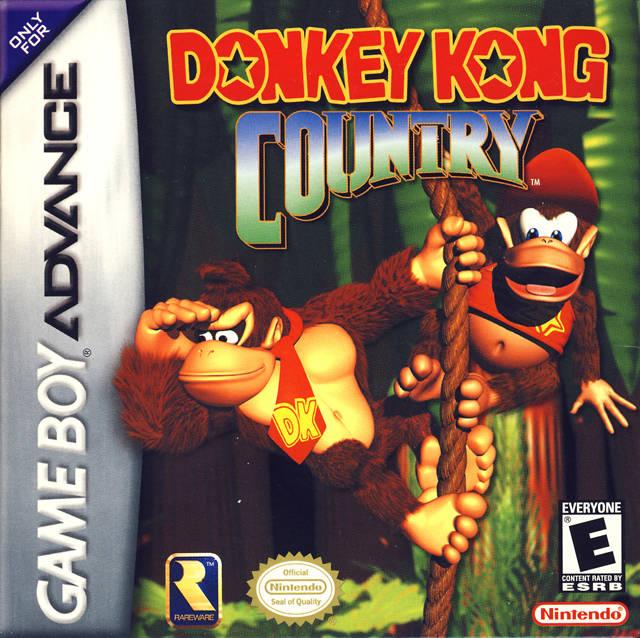 Donkey Kong Country (U)(Evasion) ROM < GBA ROMs | Emuparadise