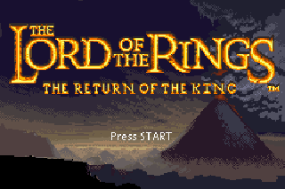Screenshot Thumbnail / Media File 1 for Lord of the Rings - The Return of the King (U)(Venom)