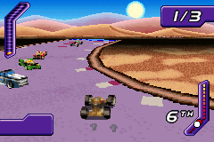 Hot Wheels - World Race (U)(Mode7) ROM < GBA ROMs | Emuparadise