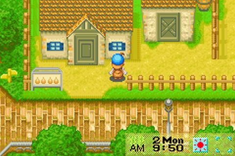 Harvest Moon - Friends of Mineral Town (E)(GBA) ROM < GBA