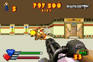 Screenshot Thumbnail / Media File 1 for Serious Sam Advance (E)(GBA)