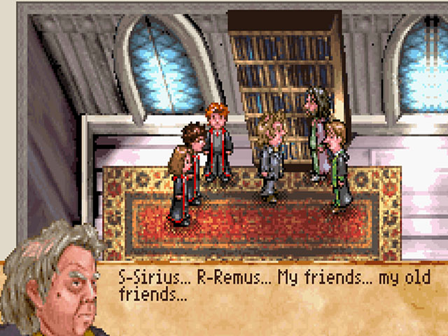 gba harry potter games