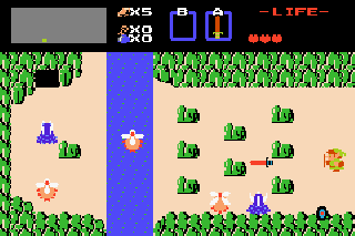 Screenshot Thumbnail / Media File 1 for Classic Nes - The Legend of Zelda (U)(TrashMan)