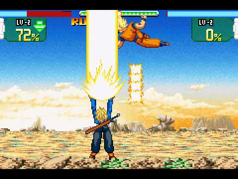 Dragon Ball Z - The Legacy of Goku ROM Download for GBA