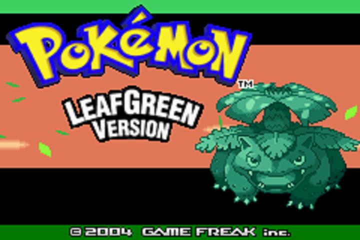 pokemon leaf green emulator mac