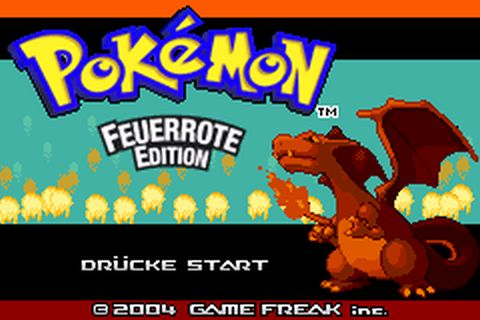 pokemon feuerrot emulator