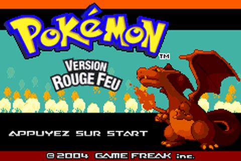 pokemon rouge feu emuparadise