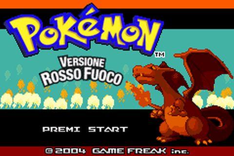 pokemon rosso fuoco gba