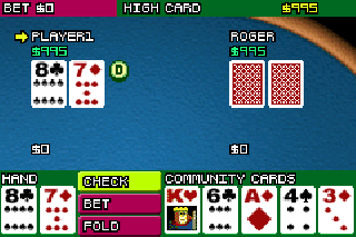 Screenshot Thumbnail / Media File 1 for Texas Hold 'Em Poker (U)(Rising Sun)