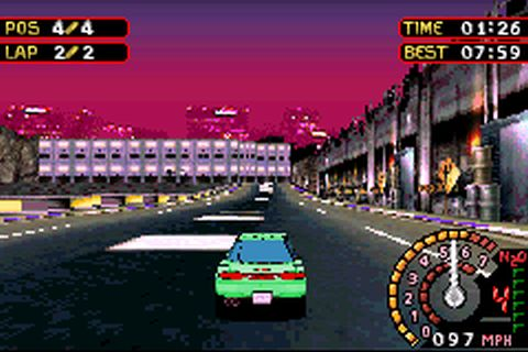 Need for Speed Underground 2 (U)(Venom) ROM < GBA ROMs