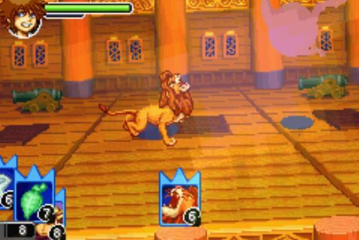 kingdom hearts gba games