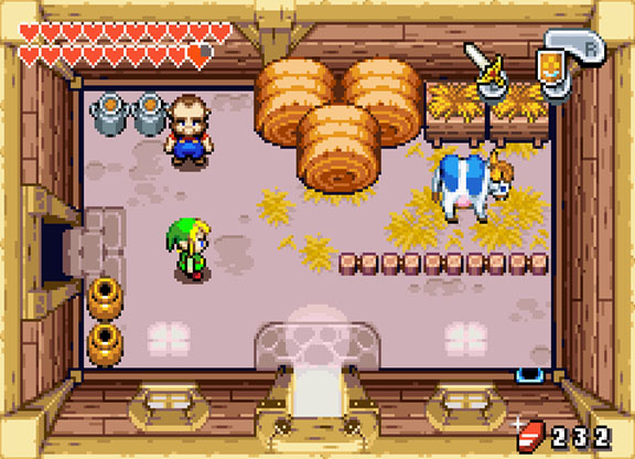 zelda the minish cap rom