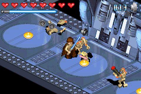 Lego Star Wars (J)(Caravan) ROM < GBA ROMs | Emuparadise