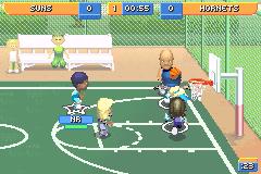 Screenshot Thumbnail / Media File 6 For Backyard Sports Basketball 2007  (U)(Rising
