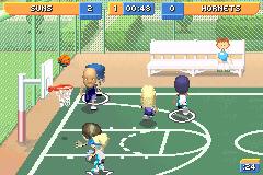 Delightful Screenshot Thumbnail / Media File 7 For Backyard Sports Basketball 2007  (U)(Rising